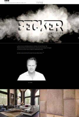 Becker Interior Wohnerlebnisse in Perfektion seit über 100 Jahren