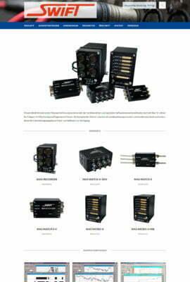 SWIFT GmbH Messwerterfassungssysteme seit über 35 Jahren